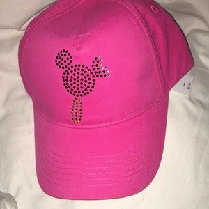 Disney pink ice cream hat NWT